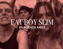 Fat Boy Slim: Teaser para MixMag