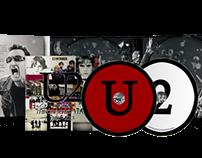 U2 – The Greatest Years 1980 – 2013 Mock-Up