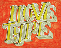 Typography - Hand drawn
