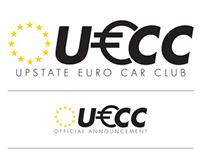 Upstate Euro Car Club Logotype and Branding