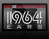 1964 Ears Website Redesign & Web-Based IEM Builder