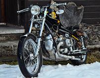 A designer and his bike - private shots