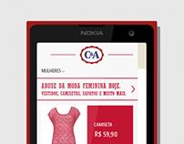 C&A Windows Phone App