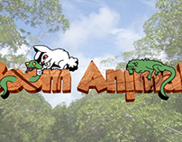 Boom Animals (Vinheta e logo finalizado)