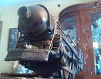 Steampunk Train