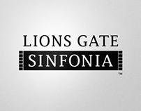 LGS,  LIONS GATE SINFONIA