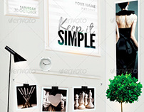 Keep It Simple Flyer Template