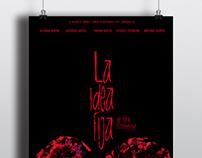 Afiche de teatro - La idea fija