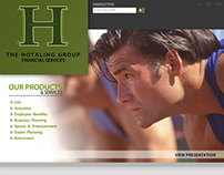 HG Financial Website Design