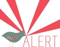 Alert Bird