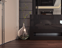 modern bedroom in ksa