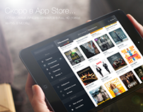 """App for iPad """"Serials"""" / Приложение для iPad """"Сериалы"""""""