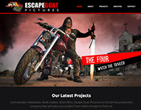 Escape Goat Pictures | Website Design