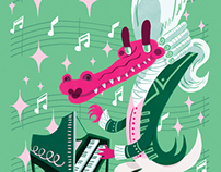 Musical Animals: Classic-Alligator