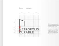 METROPOLIS DURABLE · Manual de Marca