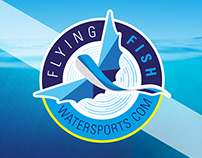 Flying Fish Watersports - Brand Design