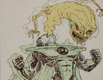Green Lantern Doodles