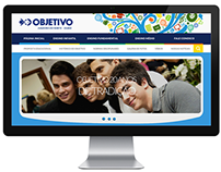 Colégio Objetivo - JZN | Webdesign