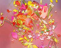 Scattered Petals I