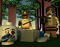 Modelado y animación Lego The Walking Dead
