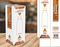 Design embalagem garrafa de alumínio Newpro