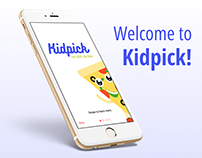 Designing for the modern kid- Kidpick