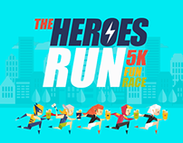 The Heroes Run 5k Fun Race