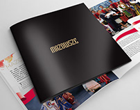 "Layout and DTP for the ""Mazowsze"" square magazine"