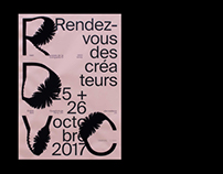 Poster - Rendez-vous des créateurs 2017