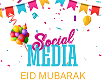 Eid Mubarak | Social Media Posts