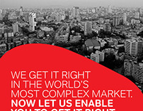 Airtel Global Campaign with emerging markets focus