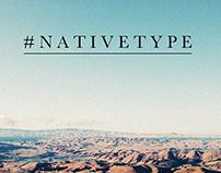 Native Type Lyric Project