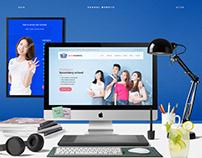 School Website UI/UX