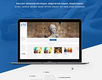 SANATA Bİ' YER Web Design