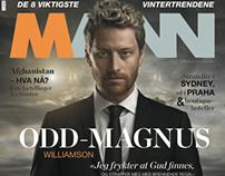 Cover-Odd Magnus Wlliamson for magasinet MANN