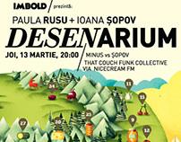 DESENARIUM - Ioana Sopov si Paula Rusu
