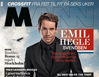Cover-Emil Hegle Svendsen for magasinet MANN