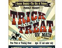 Halloween Event Poster Design