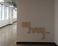 Wooden Type Design - Oy Vey