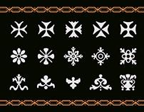 Tipografía Colonial [Garrigós ornamental]