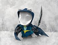 Snow Leopard - 3d Character