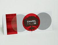 Chapel Fall 2012 Brochure