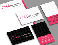 "Corporate Design // Project ""Meister Leistungen"""