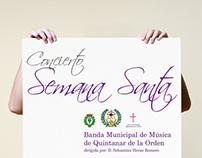 """Cartel """"Concierto Semana Santa"""""""
