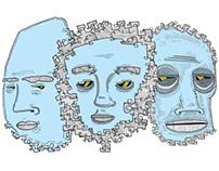 Broken Face Study