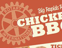 Rotary BBQ Poster