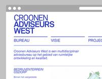 Croonen Adviseurs West / Website