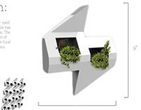 Modular Herb Garden Wall Tiles