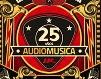 Audiomúsica -  25 años