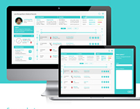 Medical Dashboard Design